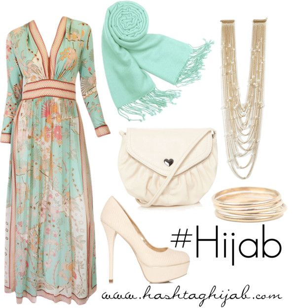 Hashtag Hijab Outfit : Bright, Light, Boho, Chic