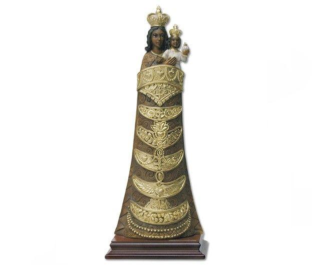 Statua Madonna di Loreto in polvere di marmo