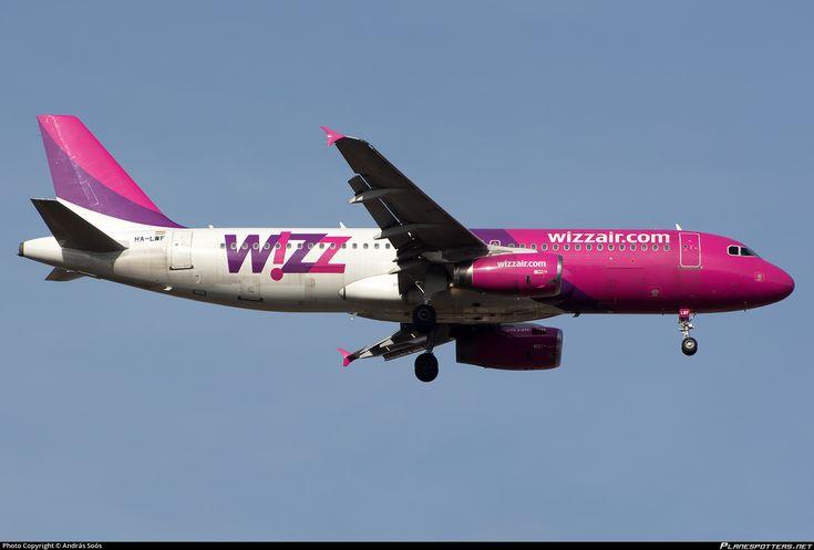 HA-LWF Wizz Air Airbus A320-232