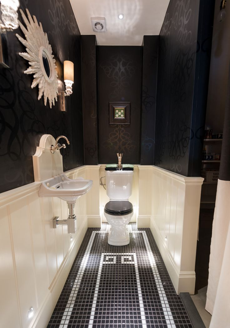 499 Best Images About Powder Rooms On Pinterest