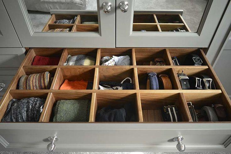 Bespoke Wardrobe Interiors - The Heritage Wardrobe Company