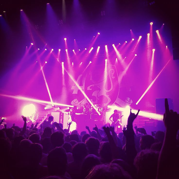 ASKING ALEXANDRIA Concert in London