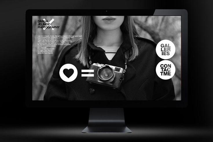 Portfilio website for documentary photographer Darija Jelincic. http://darijajelincic.com/
