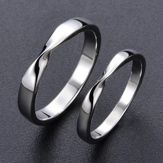 6ca39a3964 Promise rings for couples/promise ring/engagement ring/his and her promise  rings