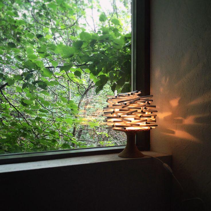 "Лампа ""хворост""  Lamp ""brushwood"""