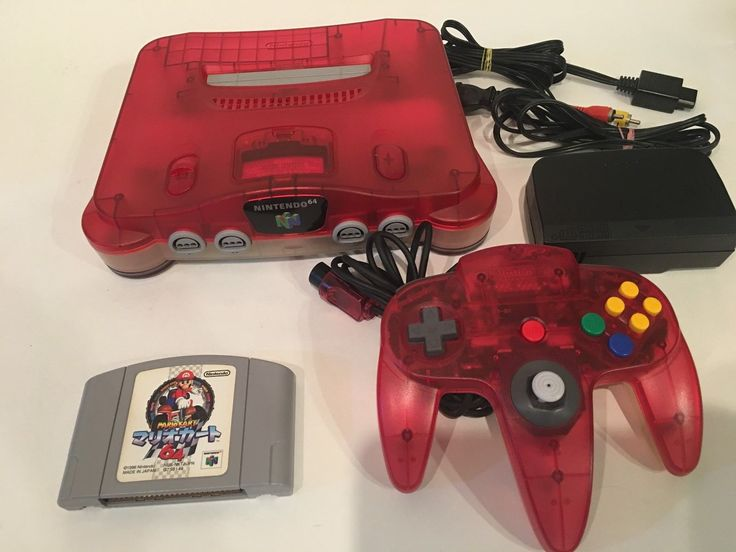 Nintendo 64 Console Bundle clear Red w/ Mario Kart 64 Japan: $87.00 End Date: Tuesday Mar-27-2018 7:10:19 PDT Buy It Now for only: $87.00…