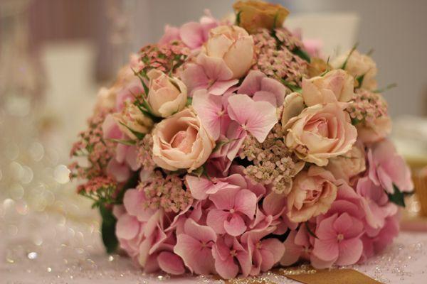 Bouquet oro rosa