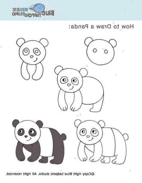 panda tekenen - Google zoeken