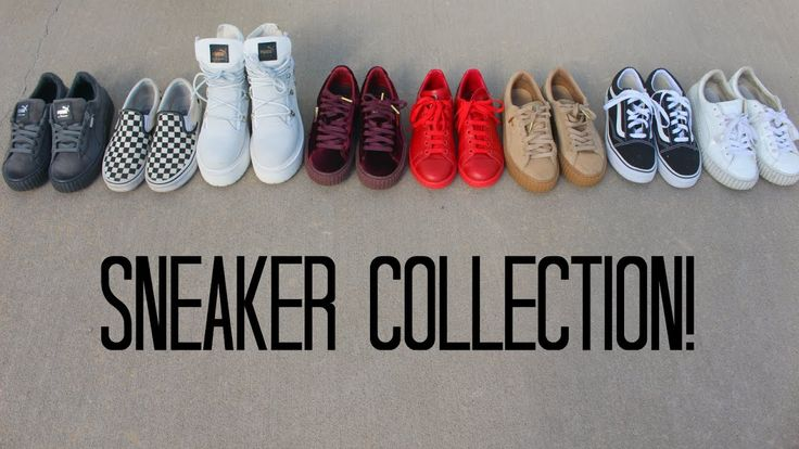 Sneaker Collection | Maya Traber Feels 22 Sneakers...  *THE LINKS FOR ALL SHOES WILL BE BELOW*   Sorry I haven't posted in months! I haven't been really motivate to make any video for awhile however, I hope you enjoy todays video! This isn't all of the sneakers I own, just...
