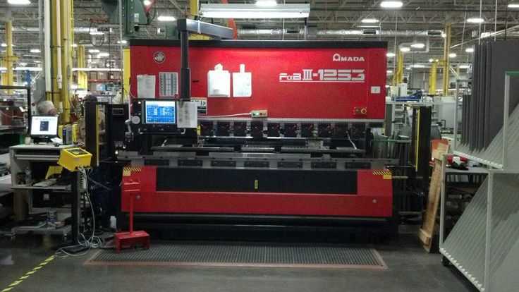 Amada FBD-NT guarded with ISB Merlin safety light curtain http://www.isblite.com/index.php