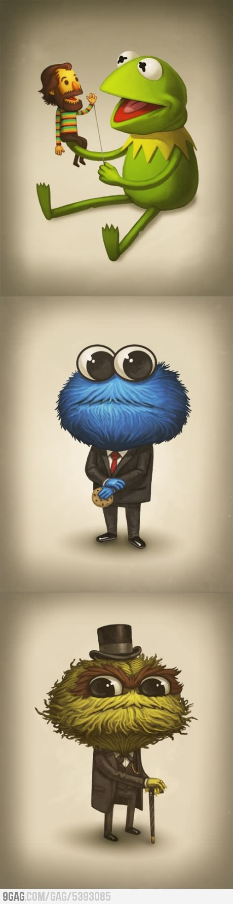 Tribute to Jim Henson by Mike Mitchell