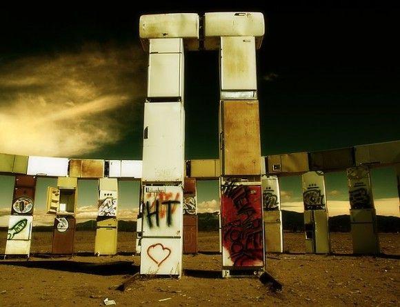 The new #Stonehenge: Adam Jonas Horowitz's Stonefridge (aka Fridgehenge)