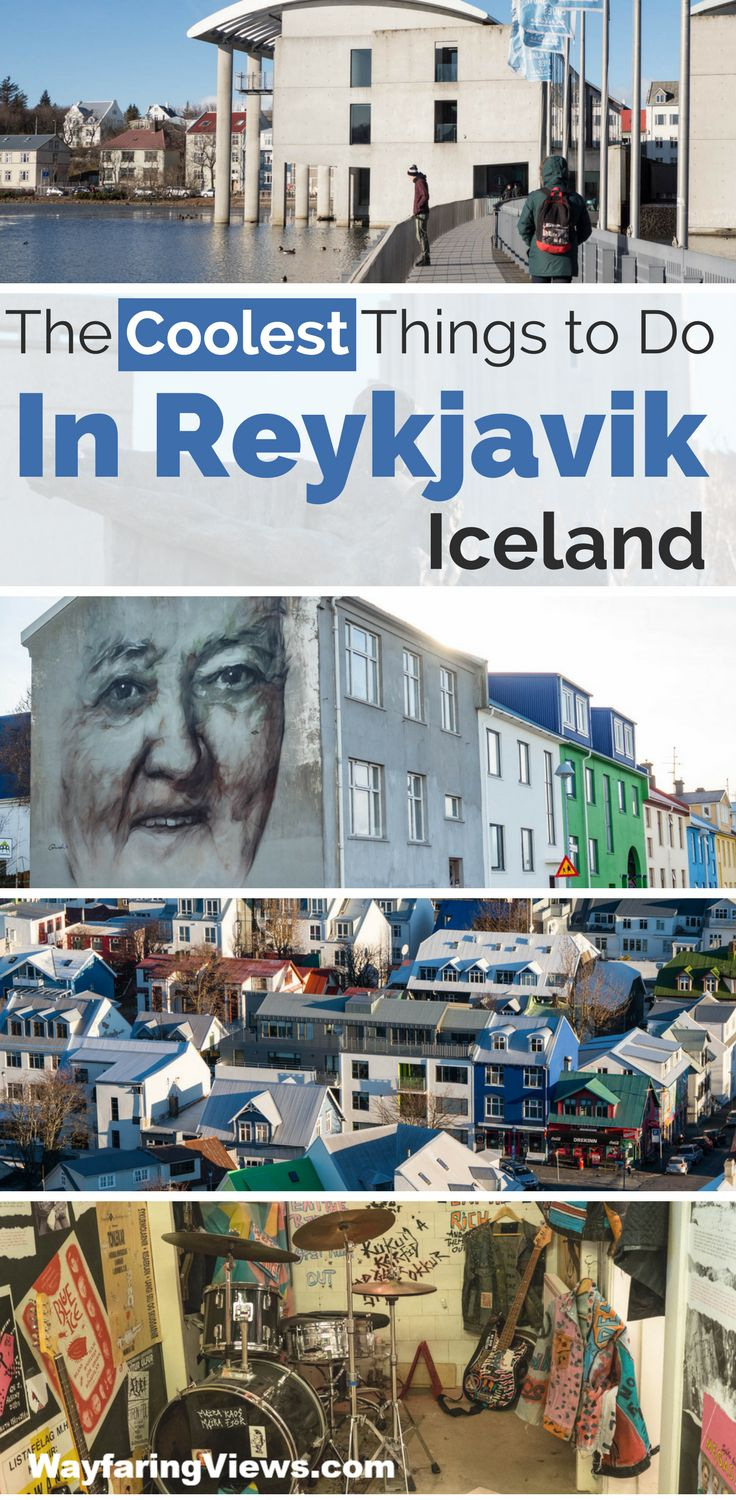 21 of the coolest things to do in Reykjavik Iceland. Find quirky museums, street art, Viking history and the best food in Reykjavik. Travel to Reykjavik Iceland and frind free things to do, the best restaurants and where to stay  #Iceland #Travel