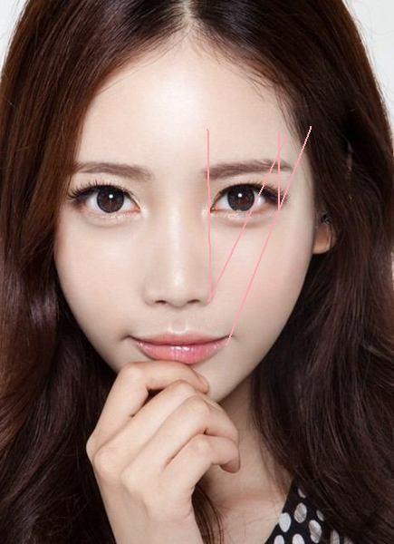 眉毛が顔のパーツで大事だとよく耳にしますが、眉毛の形はもちろん、目と眉毛の距離も重要だそうです!芸能界の美人さんたちはみんな目と眉毛の距離が近いらしい!
