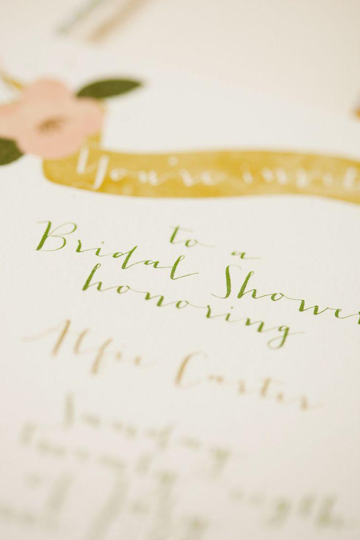 bridal shower invitations vector free%0A The NotWedding Atlanta Bridal Shower from Molly McKinley Designs