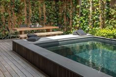 Raised Pool - Contemporary Garden by Eugene Gilligan Garden Design