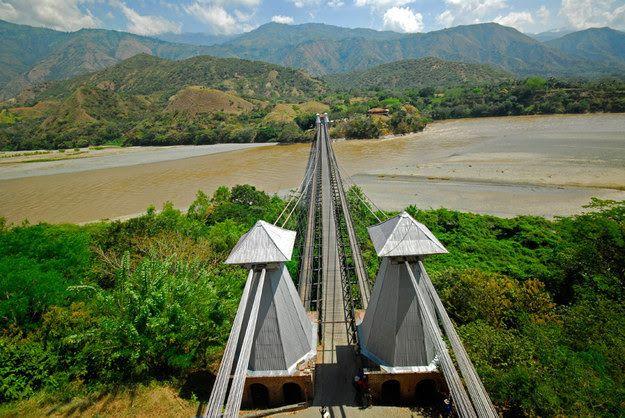 Puente de Occidente, Santafe de Antioquia, Colombia