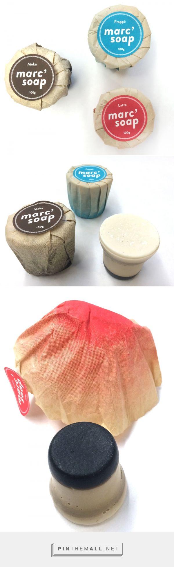 Marc's soap   Audrey-Claude Roy #packaging