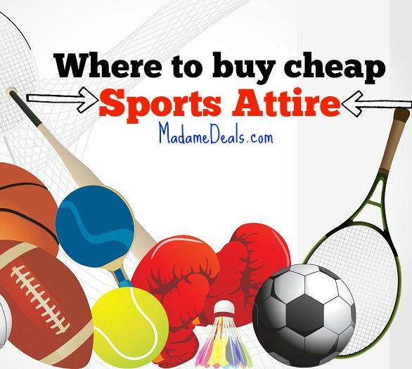 Find out Where to Buy Cheap Sports Clothing & Apparel http://madamedeals.com/buy-cheap-sports-clothing-apparel/ #inspireothers #sports