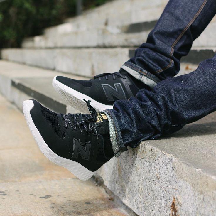 new style ba73d 8a92a new balance 574 fresh foam noir
