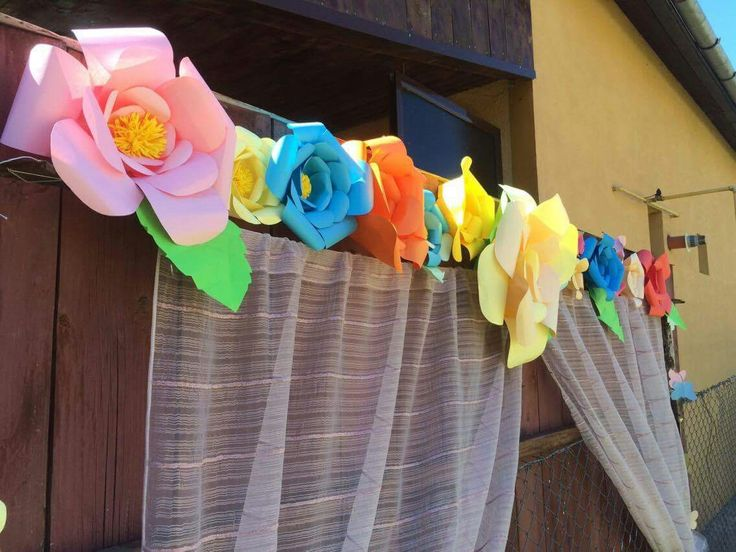 Paper flowers Wedding decorations