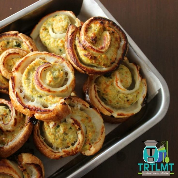 Chicken and Parmesan Pinwheels – The Road to Loving My Thermo Mixer