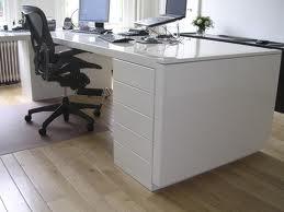 bureau hoogglans wit