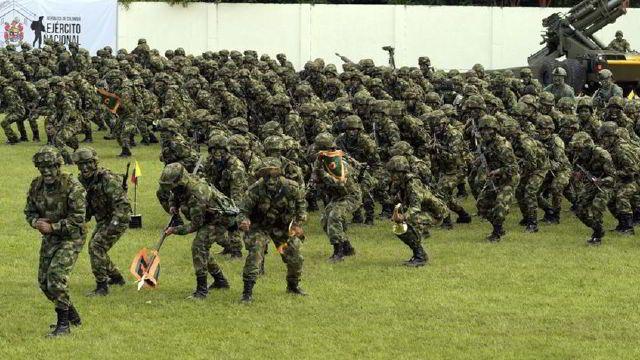 Colombia despliega más de 5.000 soldados en frontera con Venezuela    Venezuela, Soldados, Colombia