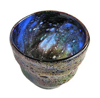 琉球ガラス 稲嶺盛吉(宙吹ガラス工房 虹) : 紅珊瑚ロックグラス | Sumally