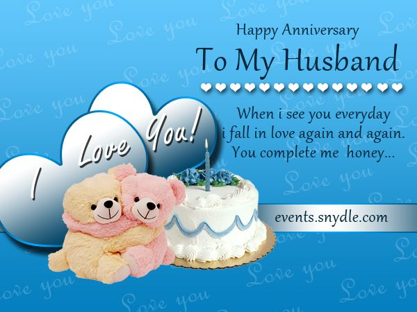 Wedding Anniversary Gifts To Husband: Wedding Anniversary Cards For Husband Di`light