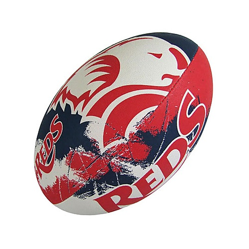 Gilbert QLD Reds Supporter Rugby Union Ball