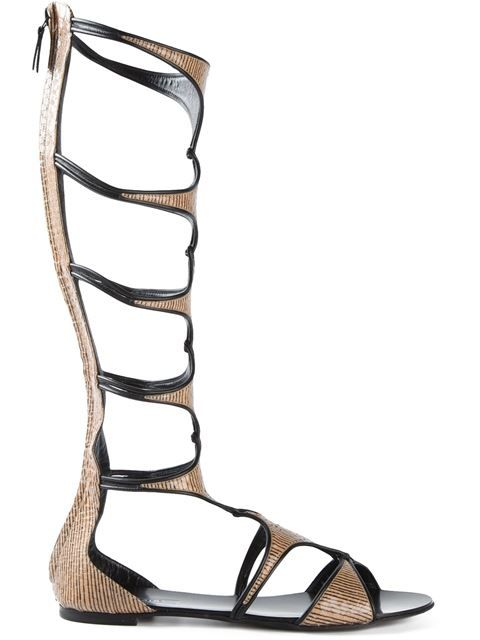 Shop Casadei mid-calf gladiator sandals in Gaudenzi from the world's best independent boutiques at farfetch.com. Over 1500 brands from 300 boutiques in one website.