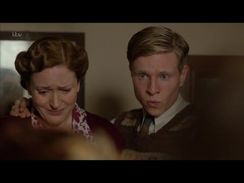Home Fires Season 2 Bryn Brindsley played by Claire Price & .David Brindsley played by Will Attenborough