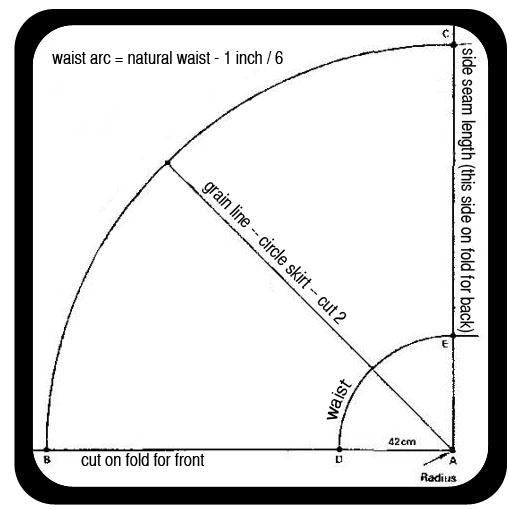 paperbag waist pdf sewing pattern