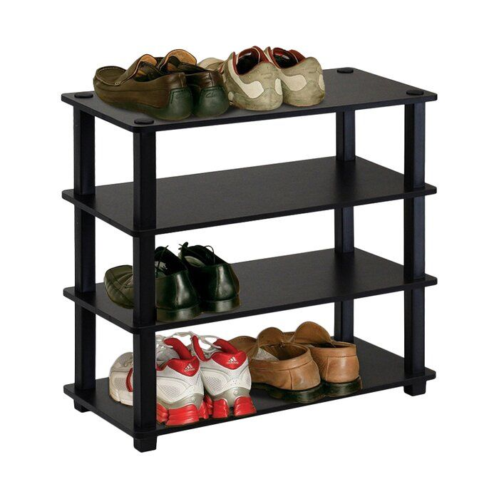 12 Pair Shoe Rack In 2020 Stackable Shoe Rack Shoe Rack Bench With Shoe Storage