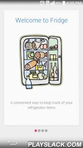 Fridge  Android App - playslack.com , Discover the FREE and easy way to a full refrigerator, and never let expired food or an empty ice box spoil your life again!Fridge is a simple application that keeps track of your refrigerator items, and has a convenient feature for adding and sharing notes, for example, sharing shopping lists with your friends or loved ones. The application now syncs its contents with a cloud database from where they are distributed to its users devices, if the user…