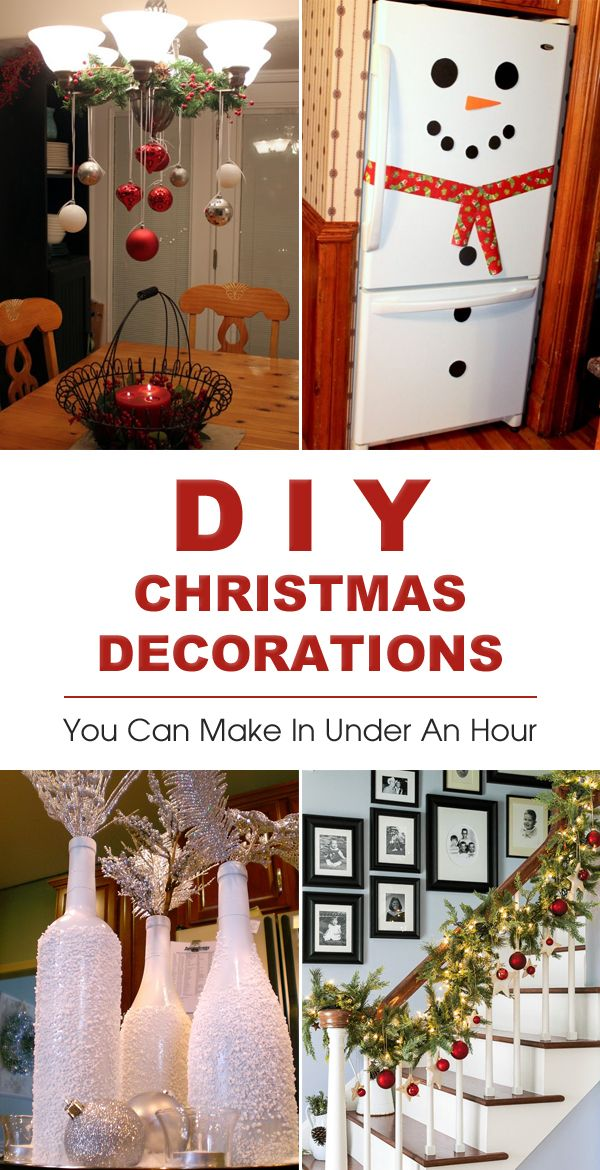 20 Easy DIY Christmas Decorations You Can