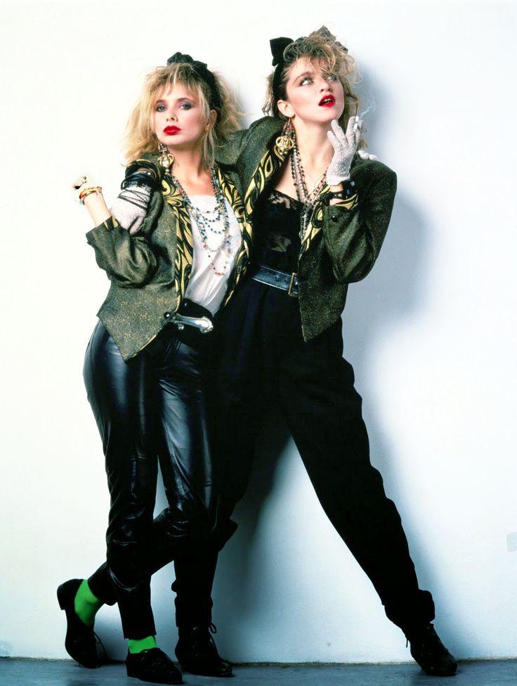 Rosanna Arquette and Madonna for Desperately Seeking Susan, 1985. Via http://hollywoodlady.tumblr.com/