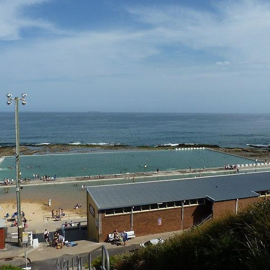 Merewether  Baths Newcastle Australia