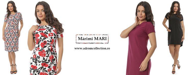 Rochiile mărimi mari sunt la mare căutare primăvara aceasta. Tu le-ai achiziționat?  👉Comandă acum de aici: http://www.adromcollection.ro/3-rochii