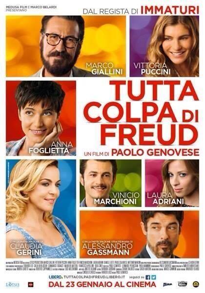 #tuttacolpadifreud dal 23 Gennaio al cinema www.marcogiallini.net