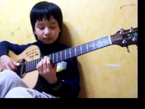 This is actually insane. Sungha Jung with a brilliant performance of U2 With or Without You (Joshua Tree) - in 2008! He makes everything look effortles.