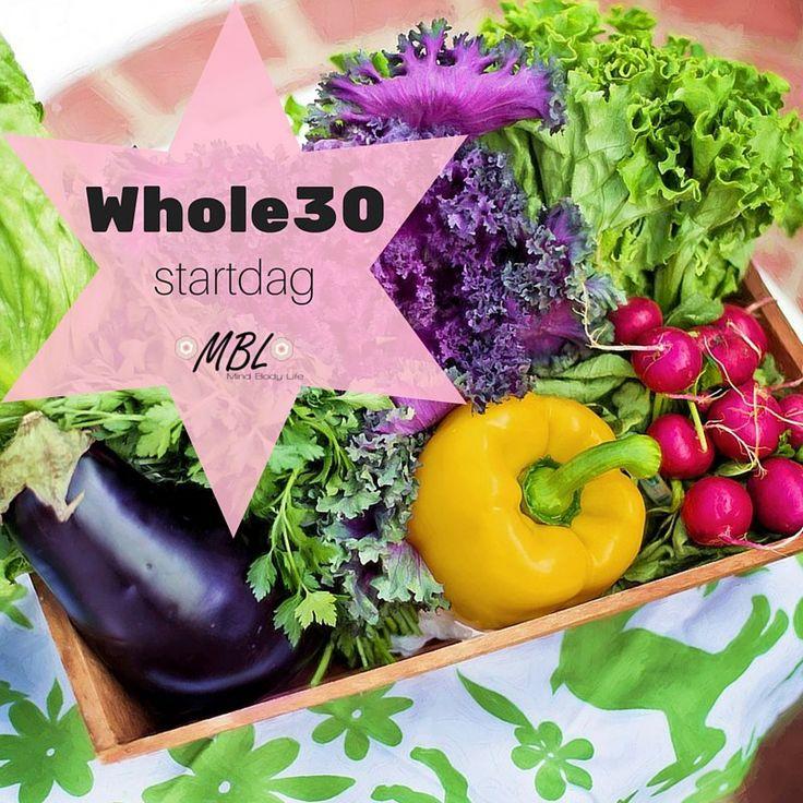 Whole30 dieet startdag via mindbodylife.nl