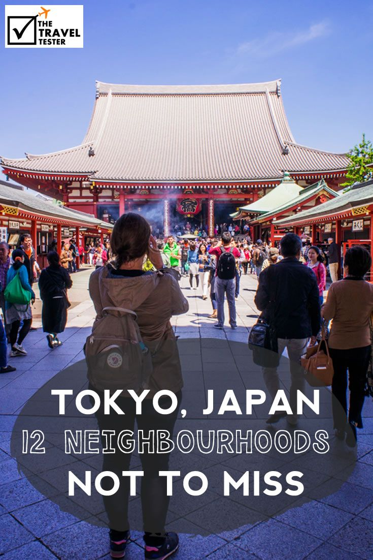 Places to Visit in Tokyo Guide: 12 Neighbourhood not to miss in Tokyo, Japan || The Travel Tester