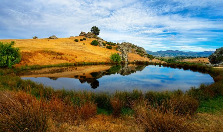 The Pond in Ophir, New Zealand from #treyratcliff at www.StuckInCustoms.com - all images Creative Commons Noncommercial.