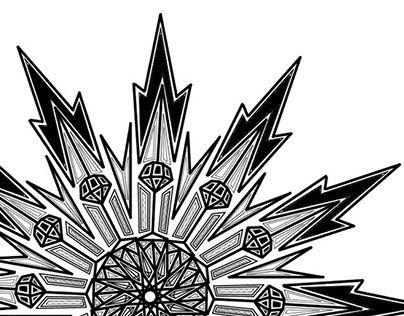 "Check out new work on my @Behance portfolio: ""mandala practice :D"" http://be.net/gallery/37291753/mandala-practice-D"