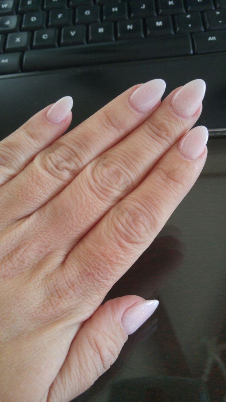 Best 25+ Short Almond Nails Ideas On Pinterest
