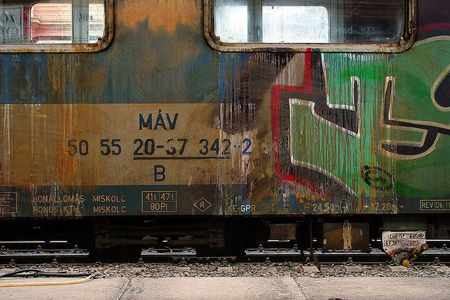 MÁV - Hungarian state railway by Magyar Dávid, via Flickr