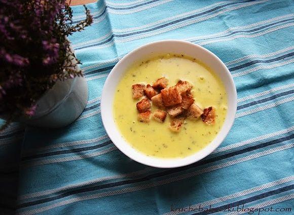 Zupa czosnkowa z grzankami według Magdy Gesler