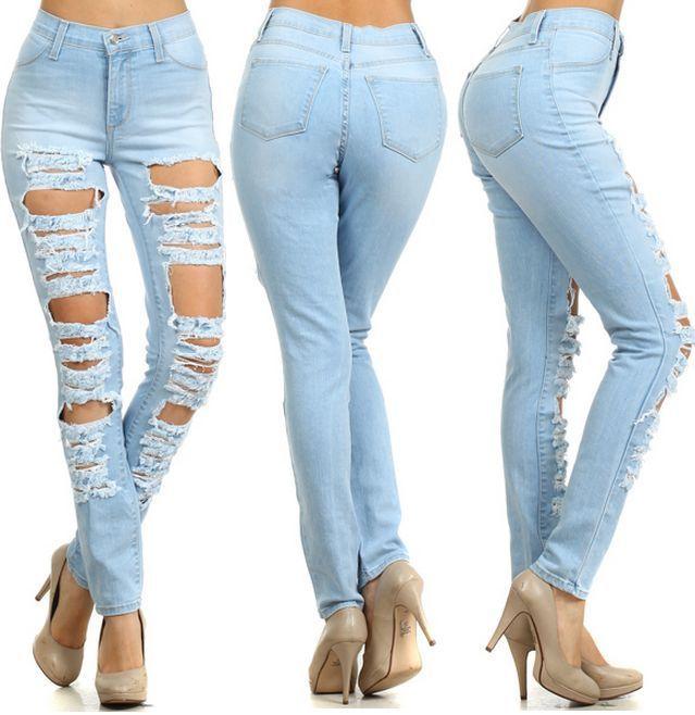 86 best images about Jeans on Pinterest | Denim pants, High waist ...